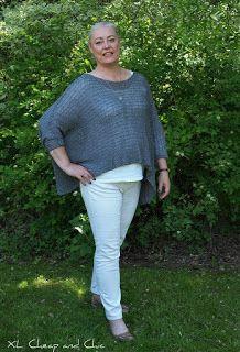 XL Cheap & Chic: Harmaata ja valkoista - Grey and white...