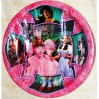 Wizard of Oz Vintage Large Paper Plates from www.HardToFindPartySupplies.com #PartySupplies