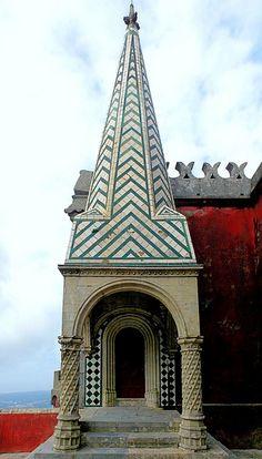 É uma pena se não visitares o Palácio da Pena na tua vinda a Lisboa! #PalaciodaPena #easyjetpt #lisboa