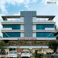 Aluminium Composite Panels (ACP sheet) manufacturer in India. Cladding Design, Exterior Cladding, Facade Design, Commercial Complex, Commercial Design, Commercial Building Plans, Dubai Architecture, Front Elevation Designs, Door Gate Design