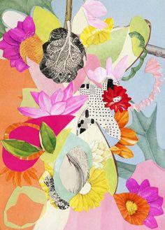 Valerie Roybal   Vintage Collage inspiration - patternbank.com