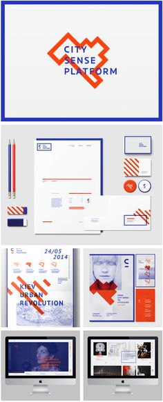 #City #Sense #Plattaform #design #graphic #identity #branding