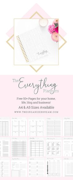 Free printable planner pages - planner pages to organize your home, life, he. - Verwirrend Free printable planner pages - planner pages to organize your home, life, he. A5 Planner Printables Free, Free Planner Pages, Calendar Printable, Planner Template, To Do Planner, Life Planner, Study Planner, Happy Planner, 2015 Planner