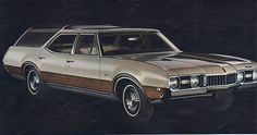 68 OLDS VISTA CRUISER  I rode in this car for 10 years