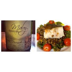 YAPP FOOD & WINE MATCH: Here is another Yapp Food & Wine match from the September Trade/Press tasting event!   The Trade team reckoned that the delicious, pan fried cod with green lentils, cherry tomatoes and salsa verde warranted a rich, full-bodied white such as Richard Maby's Lirac.