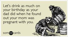 Funny Birthday Ecards For Mom ~ Funny birthday ecard: i hope your birthday is as gangster as you are