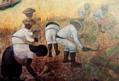 La cosecha, detalle. Alva de la Canal