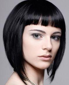 Layered bob hairstyles 2012 are best for thin and straight hair