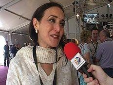 ראיון אוכל עם רינה פושקרנה, פסטיבל היין (וידאו WMV: mako)