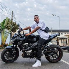 Rapper Olamide Shows Off His Power Bike On Instagram (Photo)