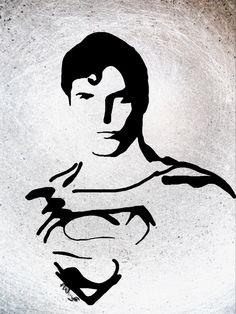 Superman on ipad Superman, Ipad, Art, Kunst, Art Education, Artworks