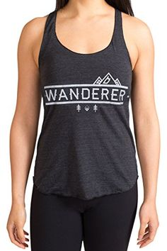 c569179fdc027 Inner Fire Wanderer Yoga Racerback Tank Top Large Charcoal Black    For  more information