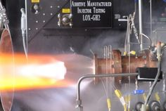 Space 101 : 3D Printed Rocket Engine from NASA