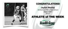 Congratulations to this week's ViewMySport ATHLETE of THE WEEK - JAYLON MOSLEY - Football (RB/LB) - Class of 2017 - Archbishop O'Hara High School (MO)... GREAT JOB JAYLON!  https://www.viewmysport.com/r-595-jaylon-mosley-football  ViewMySport.com - Your #1 College Sports Recruiting &  Scholarship Networking Resource!