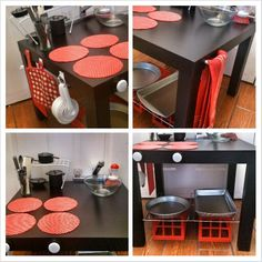 IKEA Lack Table Play Kitchenette