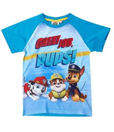 Humorous Paw Patrol Boys T Shirt Top 2-8 Years Brand New Official Licensed 2016 Design Complete In Specifications T-shirts & Tops Boys' Clothing (2-16 Years)