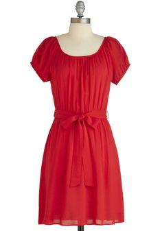 Nothing But Garnet Dress