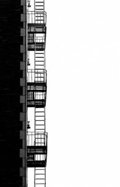 Urban Landscape Photography Tips – PhotoTakes Landscape Photography Tips, Amazing Photography, Photography Aesthetic, Food Photography, Photo D'architecture, Black And White Building, Great Buildings And Structures, Fire Escape, Urban Landscape
