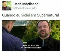 Supernatural do amor Supernatural Series, Supernatural Impala, Supernatural Bloopers, Supernatural Tumblr, Supernatural Tattoo, Supernatural Imagines, Supernatural Wallpaper, Spn Memes, Funny Memes