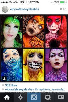 H Make Up, Studio Art, Costume Makeup, Special Effects, Art Studios, Halloween Costumes, Halloween Face Makeup, Halloween Costumes Uk, Makeup