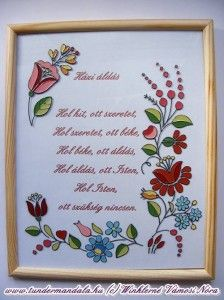á Floral Embroidery, Paintings, Traditional, Stitch, Drawings, Frame, Glass, Home Decor, Picture Frame