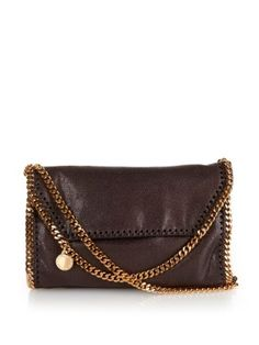 Falabella small faux-suede cross-body bag | Stella McCartney | MATCHESFASHION.COM