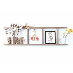 August Grove® 4 ft Blanket Ladder | Wayfair Rustic Ladder, Wood Ladder, Ladder Bookcase, Hanging Ladder, Ladder Decor, Diy Ladder, Decorative Items, Decorative Pillows, Barn Wood Decor