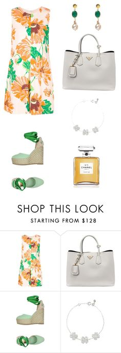 """""""An Easter lunch outfit idea with Latelita London jewellery"""" by latelita ❤ liked on Polyvore featuring STELLA McCARTNEY, Prada, Latelita and Chanel"""