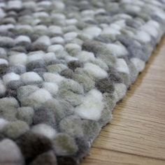 Candy Bean Wool Rug Dunelm
