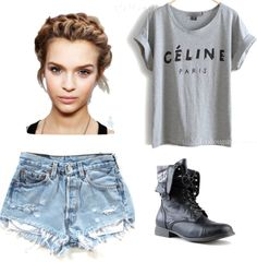 """""""a day in cali."""" by asia-isabella on Polyvore"""