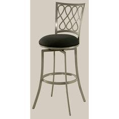 Keurig 26 Inch Swivel Counter Stool Black Pastel Furniture Swivel Bar Stools Kitchen & Din