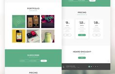 Medialoot - Chase Landing Page Template (PSD/HTML)