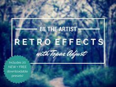 Create a Retro Effect with Topaz Adjust