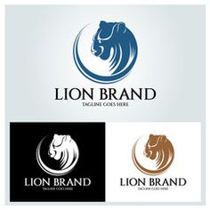 Lion Shield logo design template ,Lion Head logo ,Element for the brand identity ,Vector illustration - Buy this stock vector and explore similar vectors at Adobe Stock