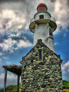 lighthouse in Batanes, Philippines . photo by Michael Mellinger Iloilo, Batanes, Lighthouse Lighting, Lighthouse Pictures, Davao, Beacon Of Light, Am Meer, Makati, Cebu