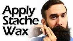 How to apply mustache wax like a boss - Youtube video