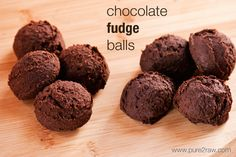 Chocolate Fudge Balls #keto #lowcarb