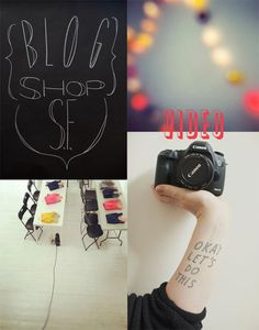 excited to take blogshop video workshop in SF