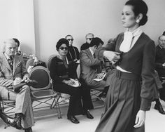 Eunice Johnson buying for the Ebony Fashion Fair
