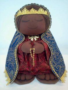 Nossa Senhora Aparecida - the patroness of Brazil.