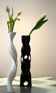 3ders.org - GeMo, an army of 3D printed vases seeking funds on Kickstarter | 3D Printer News & 3D Printing News