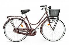 D Leopard Print Bicycle