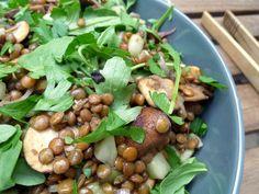 Beans, Lunch, Vegetables, Food, Mushroom, Eat Lunch, Essen, Vegetable Recipes, Meals