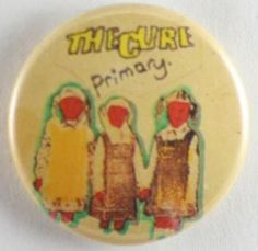 The Cure - 'Primary' Button Badge