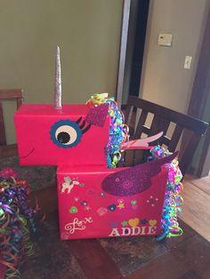 Unicorn Valentines Box!