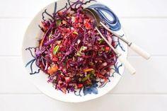 Foodlovers website, Helen Jackson. Raw energy salad. Photos by Carolyn Robertson