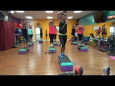 HIIT, Cardio Step/Circuit Heavy Weights - YouTube