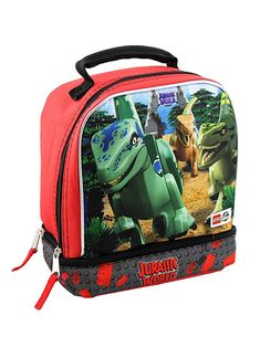 Personalised Kids Backpack Any Name Jurassic World Boys Childrens School 2