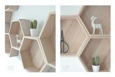 Drewaniane p�łłki - Hexagon