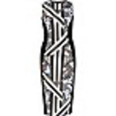 love this, would be fabulous for meetings at work and for going  out with few accessories #riverisland #sleevelessdress #women #covetme